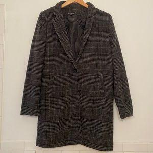 Jackets & Coats - Plaid blazer coat